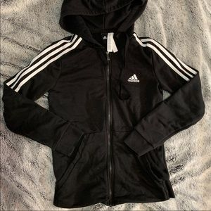 ADIDAS ORIGINAL BLACK JACKET